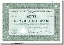 Vereinigte Westdeutsche Waggonfabriken AG - Deutz
