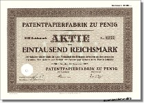 Patentpapierfabrik zu Penig