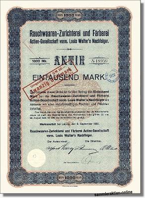 Rauchwaaren-Zurichterei und Färberei AG
