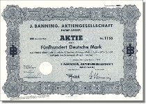 J. Banning Aktiengesellschaft