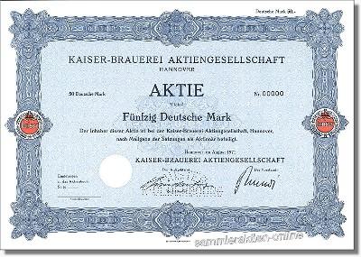 Kaiser-Brauerei Aktiengesellschaft