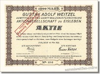 Gustav Adolf Weitzel Aktiengesellschaft