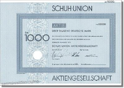 Schuh Union Aktiengesellschaft