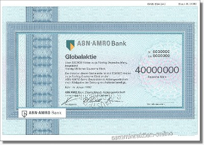 ABN Amro Holding Deutschland Aktiengesellschaft