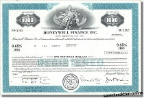 Honeywell Finance Inc.