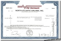 Air Vermont - North Atlantic Airlines Inc.