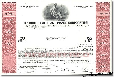 BP North American Finance Corporation - Britisch Petroleum Company