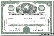 Western Union International Inc.