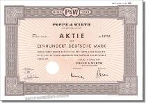 Poppe & Wirth Aktiengesellschaft