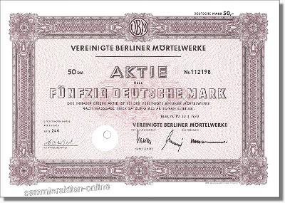 Vereinigte Berliner Mörtelwerke