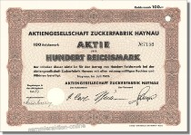 Aktiengesellschaft Zuckerfabrik Haynau - Südzucker