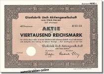 Glasfabrik Usch AG vorm. Friedr. Siemens