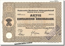 Flachswerke Wartheland Aktiengesellschaft