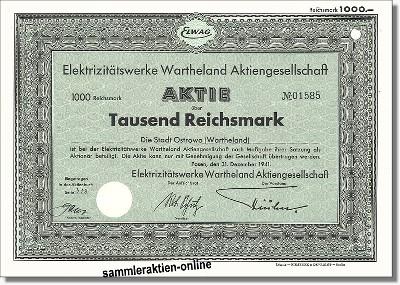 Elektrizitätswerk Wartheland Aktiengesellschaft