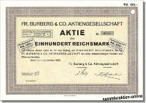 Fr. Burberg & Co. Aktiengesellschaft