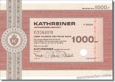 Kathreiner Aktiengesellschaft