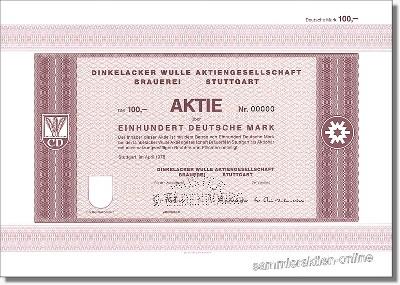 Dinkelacker Wulle Brauerei AG