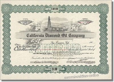 California Diamond Oil Company