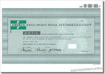 Erdölwerke Frisia Aktiengesellschaft