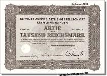 Büttner-Werke Aktiengesellschaft - Babcock