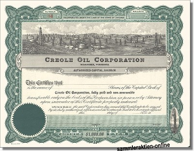 Creole Oil Corporation