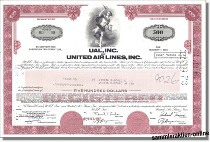 UAL Inc. & United Air Lines Inc.