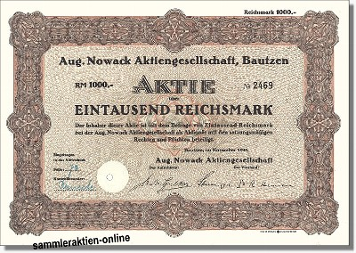 Aug. Nowack Aktiengesellschaft