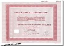 Verlag A. Schmidt Aktiengesellschaft