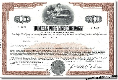 Humble Pipe Line Company - Exxon