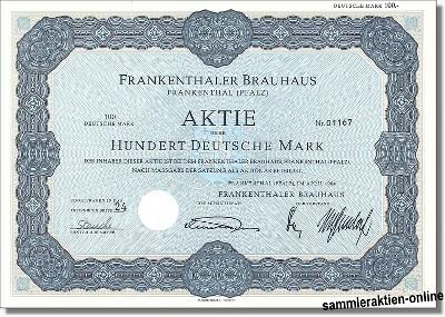 Frankenthaler Brauhaus