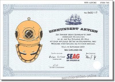 Sea Explorer Aktiengesellschaft