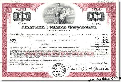 American Fletcher Corporation