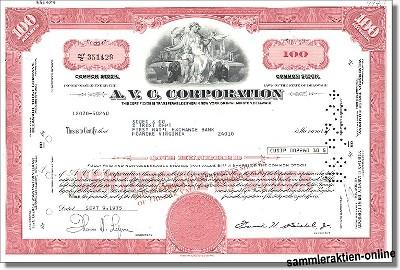 A. V. C. Corporation