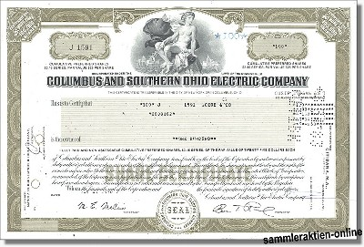 Columbus and Southern Ohio Electric Company