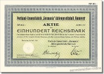 "Portland-Cementfabrik ""Germania"" Aktiengesellschaft"