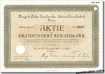 Pongs & Zahn Textilwerke Aktien-Gesellschaft