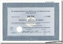 Die Blauen Quellen Fritz Meyer & Co. AG