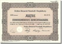 Actien Brauerei Neustadt-Magdeburg
