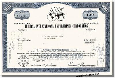 Admiral International Enterprises Corporation - AIE