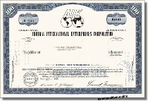 Admiral International Enterprises Corporation - AIE