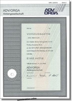 ADV Orga AG, jetzt cash.life
