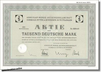 Aesculap Werke AG Jetter & Scheerer