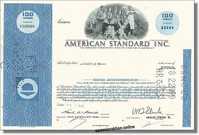 American Standard Inc.