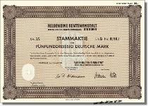 """Allgemeine Rentenanstalt Lebens- und Rentenversicherungs-AG """"ARA"""""""