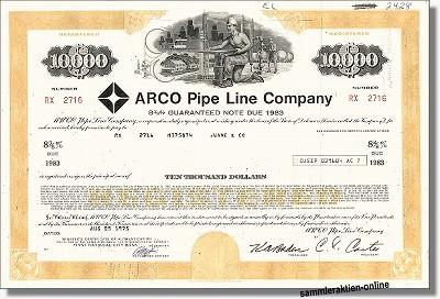 Arco Pipe Line Company - British Petroleum BP