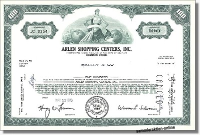 Arlen Shopping Centers Inc.
