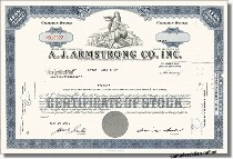 A. J. Armstrong Co. Inc.