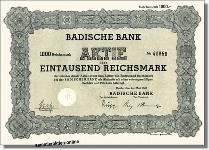 Badische Bank AG