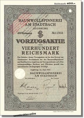 Baumwollspinnerei am Stadtbach
