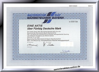 Bayerische Ray Wärmetechnik AG